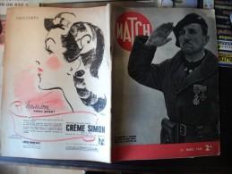 MATCH DU 21 MARS 1940. LA GARDE AU RHIN... PUB CREME SIMON / PIERRE LAVAL / VON RIBBENTROP ET LE COMTE CIANO - Informations Générales