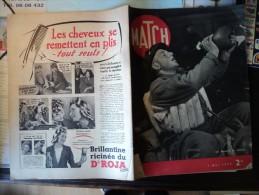 MATCH DU 2 MAI 1940. LES FRANCAIS EN NORVEGE PUB BRILLANTINE DR ROJA / MRS HARRIMAN MINISTRE DES USA A OSLO - Informations Générales