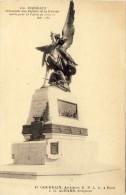 CPA -  BORDEAUX, Monument Aux Enfants De La Gironde Morts Pour La Patrie En 1870-71 - 2 Scans - Bordeaux