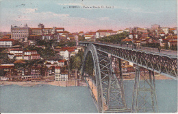 PC Porto - Vista E Ponte D. Luiz I - Ca. 1920 (5378) - Porto