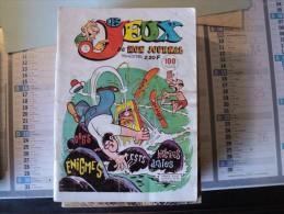 LES JEUX DE MON JOURNAL N°15 D AOUT 1977. AVENTURES ET VOYAGES - Livres, BD, Revues
