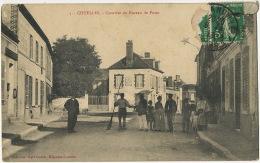 5 Chuelles Quartier Du Bureau De Poste Edit Karl Guillot Migennes Laroche  Facteur - France