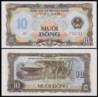 Vietnam Viet Nam UNC 10 Dong Banknote / Billet 1980 - P#86 - Vietnam
