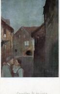 -CPA - C. SPINDLER - Le Baiser - Art Alsacien N°23 -- 102 - Autres Illustrateurs