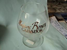 Verre A Calvados Madame Bovary. Lettrage Doré. - Glasses