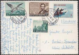 "San Marino - Repubblica - Castle - 4x Nice Stamps ""bird"" - San Marino"