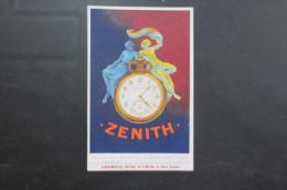 Reproduction Affiche Pour Montres Zenith - Publicité