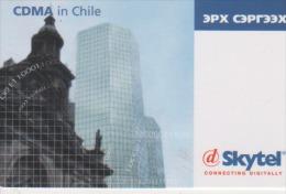 Mongolia - CDMA In Chile