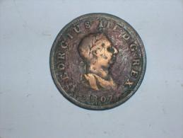 Gran Bretaña 1/2 Penique 1807 (5435) - 1662-1816 : Acuñaciones Antiguas Fin XVII° - Inicio XIX° S.
