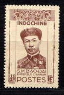 INDOCHINE - N° 236(*) - BAO-DAÏ, IMPEREUR D'ANNAM - Indochina (1889-1945)