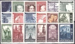 AUSTRIA ÖSTERREICH Lot Aus 1948  MNH / ** / POSTFRISCH - 1945-60 Ungebraucht