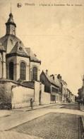 BELGIQUE - BRABANT FLAMAND - VILVORDE - VILVOORDE - L'Eglise De La Consolation. Rue De Louvain. - Vilvoorde
