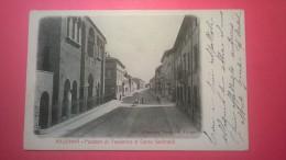 Ravenna - Palazzo Di Teodorico E Corso Garibaldi - Ravenna