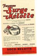 PUBLICITÉ AGRICULTURE FERME LA TRAYEUSE SURGE MELOTTE BOULEVARD DE GOURGUES AULNAY SOUS BOIS - Publicités