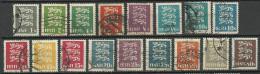 Estland Estonia 1928-35 Michel 74 - 87 & 106 - 107 O - Estonia