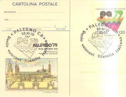 67515)CARTOLINA POSTALE-  PALERMO79 RUOLO VETERANI - 6. 1946-.. Repubblica