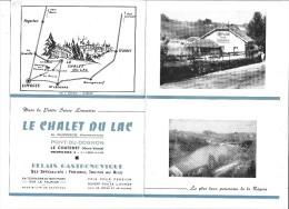 PONT DU DOGNON - LE CHATENET - Le Chalet Du Lac - France