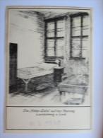 """(4/6/77) AK """"Hitler-Zelle"""" Auf Der Festung Landsberg A. Lech, Um 1938 - Gefängnis & Insassen"""