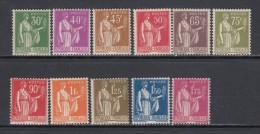 1932 - 1933   YVERT N� 280 / 289   / * * /