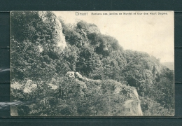 DINANT: Rochers Des Jardins De Monfat Et Tour Des Hault Degres, Niet Gelopen Postkaart (GA14265) - Dinant