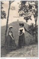 Vosges Gruss Aus Den Vogesen Lothringerin Alsasserin - Frankreich
