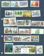 Timbres Des Années 2010/2011      Faciale 16,49 Euros - Neufs