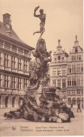 CPA Anvers - Grand Place - Fontaine Brabo (5418) - Antwerpen