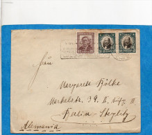 MARCOPHILIE-lettreCHILI- Cad 1934 -- Pour Allermagne-Berlin-afft 3 Timbres - Chile