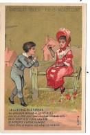 CHROMO  - CHOCOLAT IBLED - MONDICOURT  - Le Corbeau Et Le Renard - Ibled