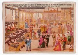 Ancienne Chromo Imp. Herbemont, Magasin De Chaussures Frétin - Unclassified