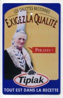 PLAQUE PUBLICITAIRE TOLE TIPIAK . Trés Bonne Peinture        (S650) - Tin Signs (after1960)