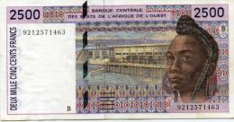 1992 - 2.500 FRANCS - BENIN - Benin