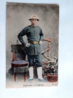 Carte Postale Ancienne : CHINA : Police Man At HONGKONG - Chine (Hong Kong)