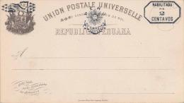 PERU  1895? - 2 Centavos Ganzsache Mit Aufdruck ** - Peru