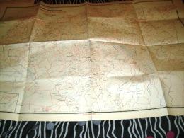 CARTE COLONIALE- ALGERIE -DEPARTEMENT DE CONSTANTINE-1957 - Geographical Maps