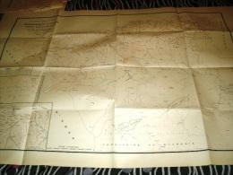 CARTE COLONIALE- ALGERIE -DEPARTEMENT D'ALGER-1952 - Carte Geographique