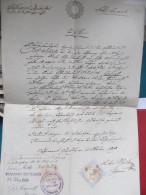 TAUFSCHEIN Gottesgab 1849 //// W8477 - Historische Dokumente
