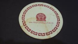 A Vietnamese Restaurant Coaster - Used One - Otras Colecciones