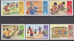 TOKELAU, 1983 PASTIMES 6 MLH - Tokelau