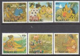TOKELAU, 1990 WOMENS ART 6 MNH - Tokelau