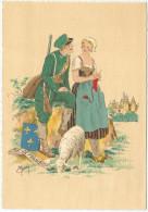 Île-de-France - Costumes - Mouton - Fusil - Tricot - Armoiries - Costumes