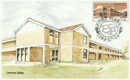 South Africa Ciskei 1983 Educational Institutions, Lennox Sebe, Maximum Card - Ciskei