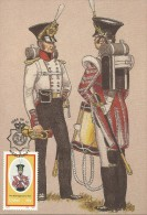 South Africa Ciskei 1986 Military Uniforms, The 98th Regiment Of Foot, Maximum Card - Ciskei