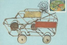 South Africa Ciskei 1987 Home Made Toys, Car, Maximum Card - Ciskei