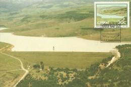 South Africa Ciskei 1989 Dams, Cata, Maximum Card - Ciskei