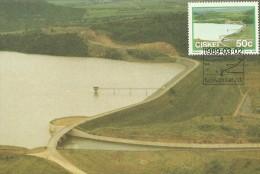 South Africa Ciskei 1989 Dams, Sandile, Maximum Card - Ciskei