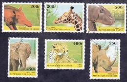 SERIE TIMBRES GUINEE 1997 ANIMAUX SAUVAGES - Andere