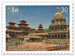 PATANDHOKA UNESCO MONUMENT ZONE RUPEE 30 MINT STAMP NEPAL 2013 MINT/MNH - UNESCO