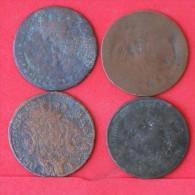 PORTUGAL -       MONARQUIA - 4 COINS -  (Nº07439) - Portugal