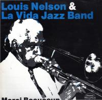 * LP *  LOUIS NELSON & LA VIDA JAZZ BAND - MERCI BEAUCOUP (Holland 1983 EX!!!) - Jazz